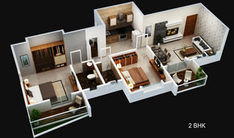 Floor Plans of Pearl Residency